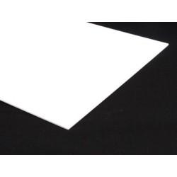 White Acrylic - 3mm Sheet 378x510mm