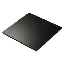 Black Acrylic - 3mm Sheet 378x510mm