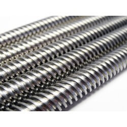 8mm Metric Acme Lead Screw. Length 250mm