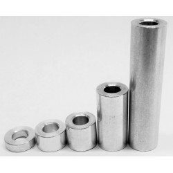 Aluminum Spacers - 1/4""