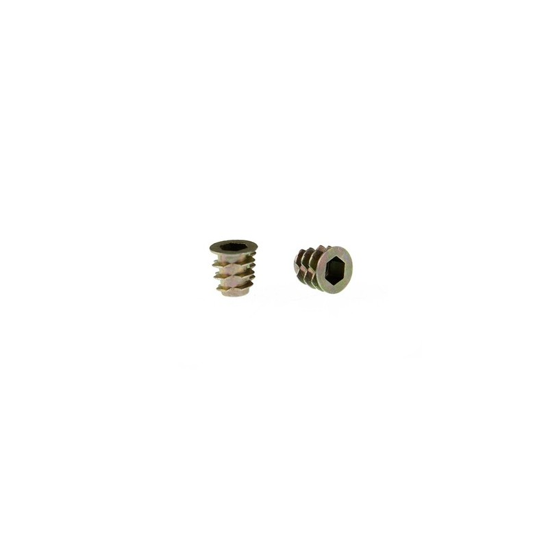 Threaded Wood Inserts M5x10 (50 Pack)