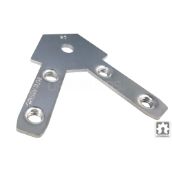 Makerlink - 60 Angle Tee Nut (2 Pack)