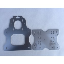 Stainless OX X-Gantry Plates (Set of 2 Plates)