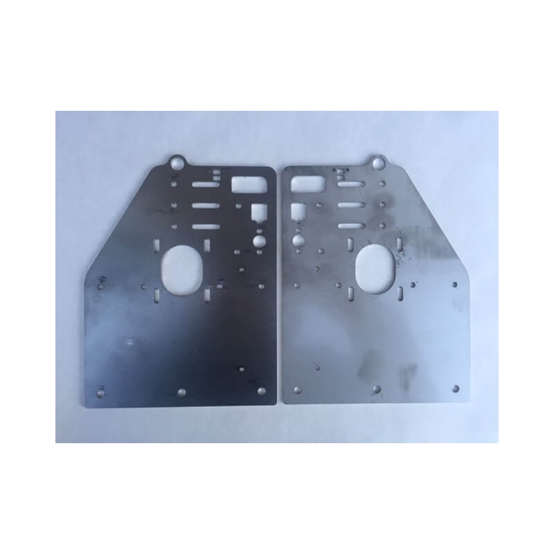 Stainless OX Y-Gantry Plates (Set of 2 Plates)