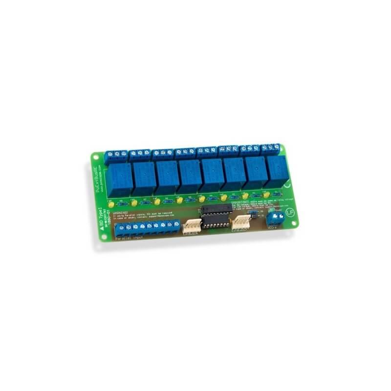 PoKeys 8 Relay Board - PoExtBusRe