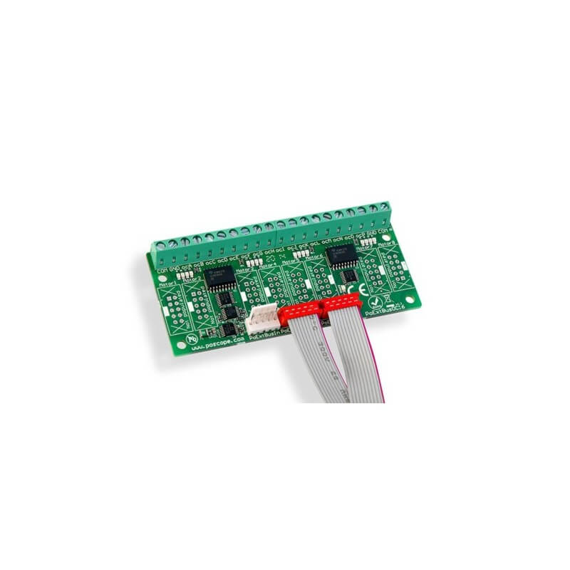 PoKey 16 Output Board - PoExtBusOC16