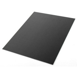 3k Carbon Fibre Sheet 200x300mm