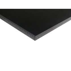 Black POM - Acetal Sheet 330x500mm