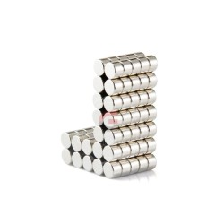 Disk Ø6x4mm - Neodynium Magnet (2 pack)