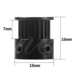 Mellow GT2 pulley 20