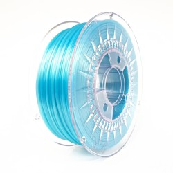 Blue Semi Transparent - PLA 1.75 - Devil Design