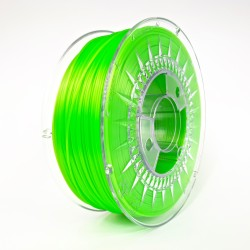 Bright Green Semi Transparent - PLA 1.75 - Devil Design