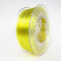 Bright Yellow Transparent - PETG 1.75 - Devil Design