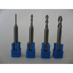 Hi End Aluminum Milling Bit - Shaft 6mm