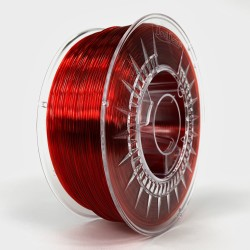 Ruby Red Transparent - PMMA 1.75 - Devil Design