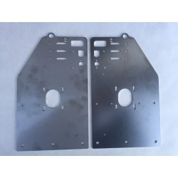 Stainless OX Long Y-Gantry Plates (Set of 2 Plates)