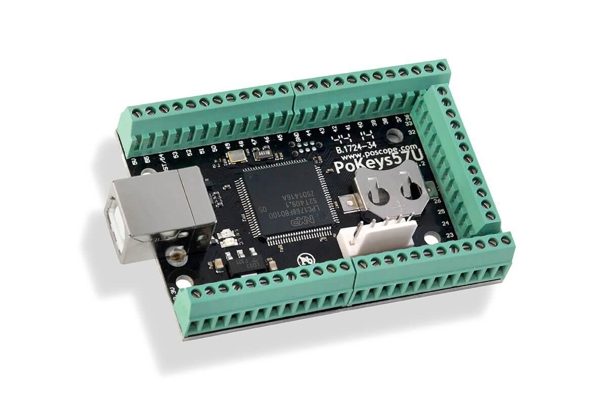 USB CNC controller & data I/O board - PoKeys57UT Motion Controllers