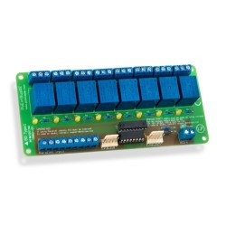 PoKeys 8 Relay Board - PoExtBusRe