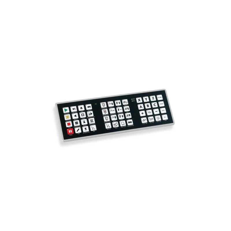 CNC Dust Proof Keyboard - PoNET kbd48CNC